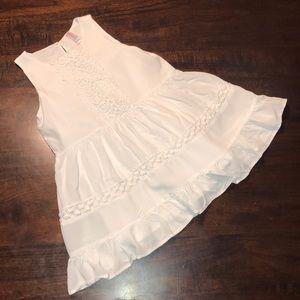 Girls Xhilaration White Dress Sz XS 4/5